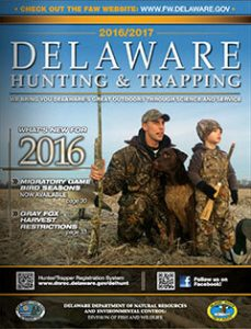 Delaware Hunting & Trapping 2016-2017 cover