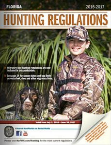 Florida Hunting Regulations 2016 cover