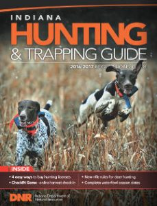 Indiana Hunting & Trapping Guide 2016-2017 cover