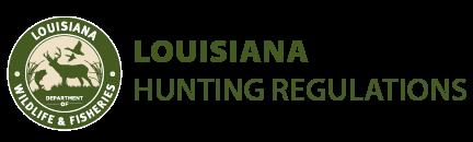 Deer Hunting Areas Map Louisiana Hunting Seasons Regulations