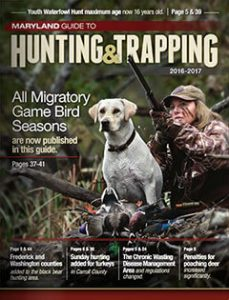 Maryland Hunting & Trapping 2016-2017 cover