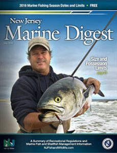 New Jersey Marine Digest 2016 cover