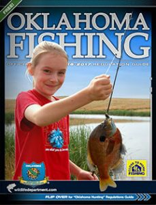 Oklahoma Fishing Official Regulations Guide 2016-2017 cover