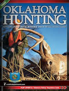 Oklahoma Hunting Official Regulation Guide 2016-2017 cover