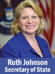 Michigan Secretary of State Ruth Johnson