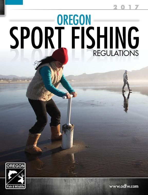 Oregon fishing regulations 2017 eregulations for Ma saltwater fishing license