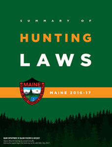Maine Hunting Cover 2017