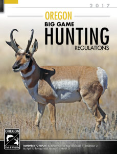 Oregon Hunting Cover 2017