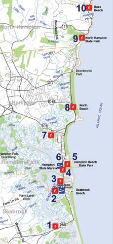 Coastal Access Sites New Hampshire Saltwater Fishing Regulations