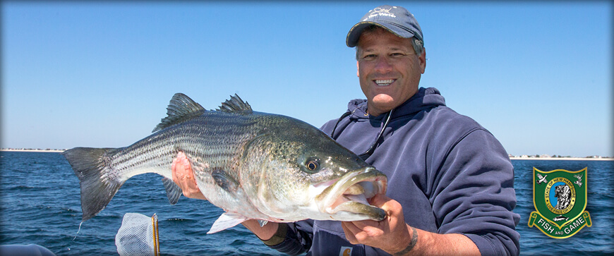 New Hampshire Saltwater Fishing Welcome Slider