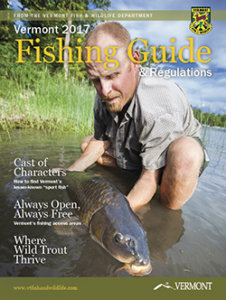 Vermont Fishing Regulations Cover 2017