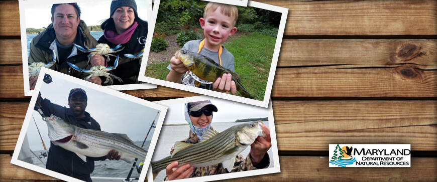 Maryland Fishing Regulations Welcome Slider