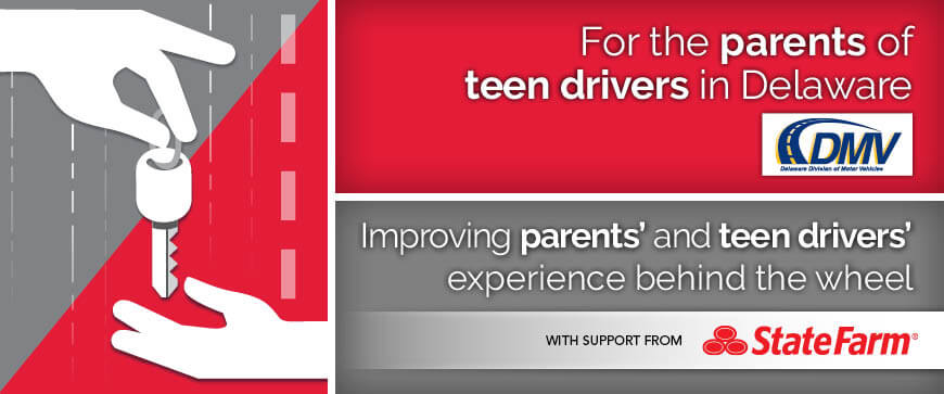 Welcome to Delaware's Parent Supervised Driving Program