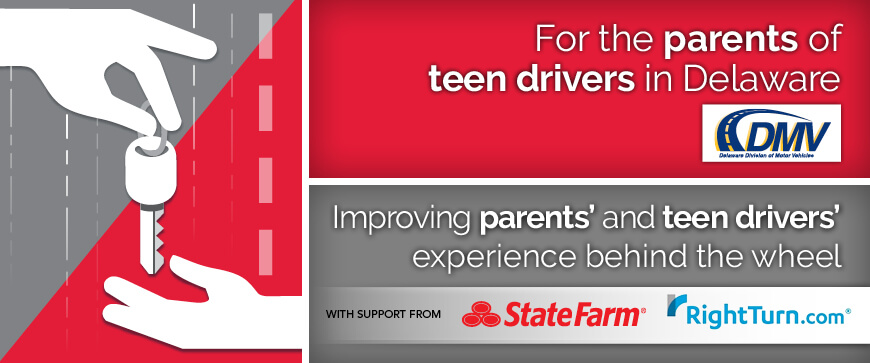 Welcome to the Delaware Parent's Supervised Driving Program