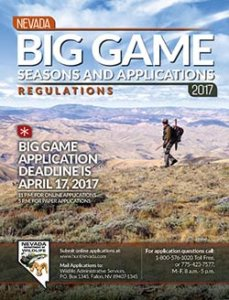 Nevada Big Game Hunting Cover