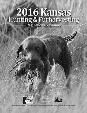 Kansas Hunting Regulations Cover