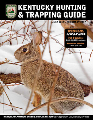 Kentucky Hunting Regulations Cover