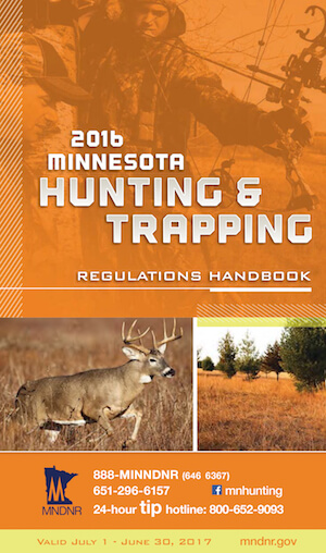Minnesota Hunting Regulations Cover