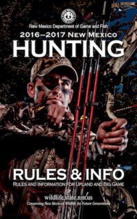 New Mexico Hunting Regulations Cover