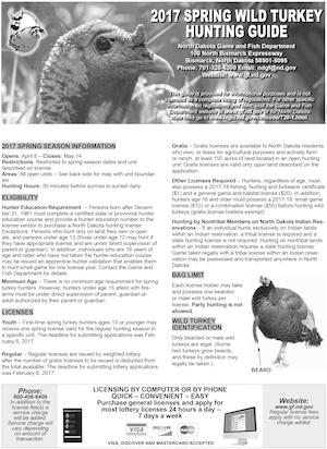 North Dakota Hunting Regulations Cover
