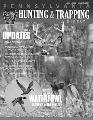 Pennsylvania Hunting Regulations Cover