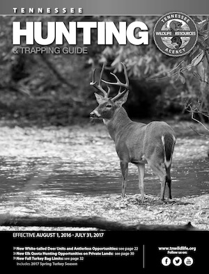 Tennessee Hunting Regulations Cover