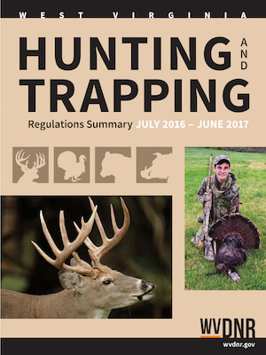 West Virginia Hunting Regulations Cover
