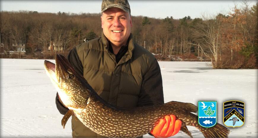 Rhode Island Freshwater Fishing Welcome Slider