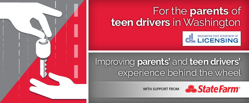 Welcome to the Washington Parent's Supervised Driving Program