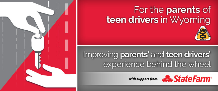 Welcome to the Wyoming Parent's Supervised Driving Program