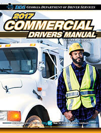Georgia Commercial Drivers Manual Cover