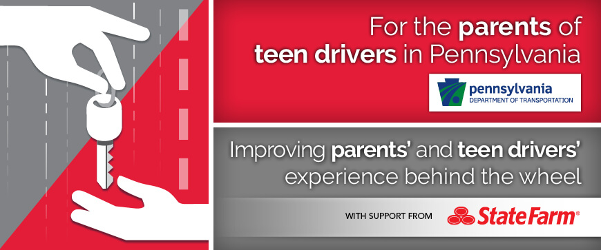 Welcome to the Pennsylvania Parent's Supervised Driving Program