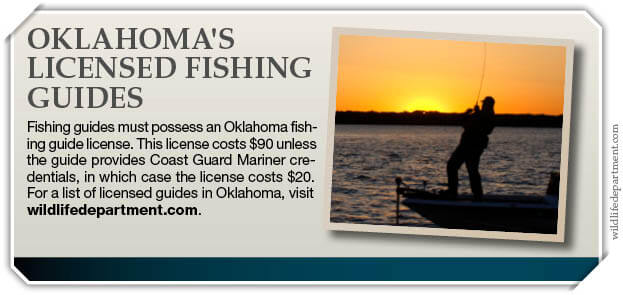 License requirements exemptions oklahoma fishing for Oklahoma non resident fishing license