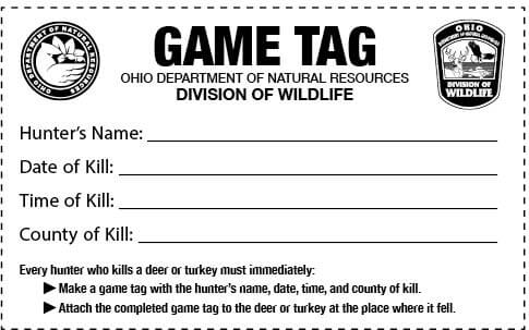 permission for hunting or trapping on private lands | ohio hunting