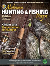 Alabama Hunting & Fishing Regulations Cover
