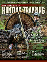 Maryland Hunting Regulations Cover