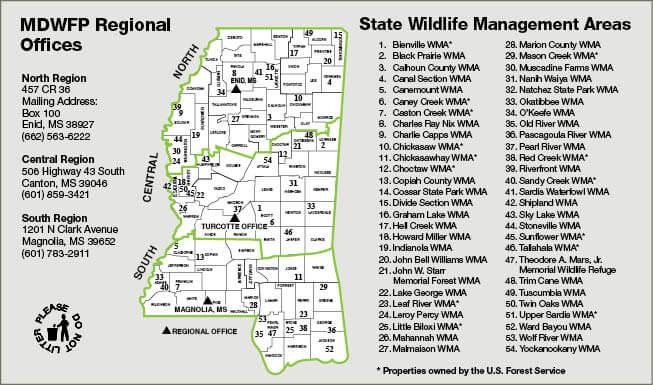 Mississippi Hunting Regulations 2017 2018 Download Pdf