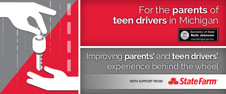 Welcome to the Michigan Parent's Supervised Driving Program