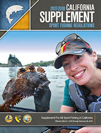 California Supplement Fishing Cover