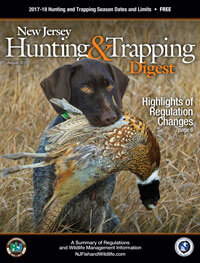 New Jersey Hunting Regulations Cover