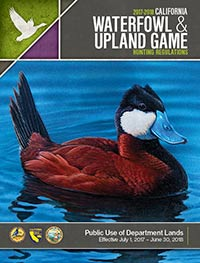 California Waterfowl & Upland Game Bird hunting Regulations Cover