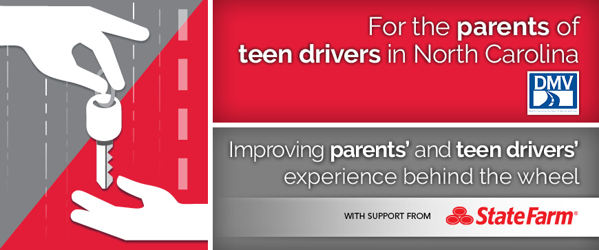 Welcome to the North Carolina Parent's Supervised Driving Program