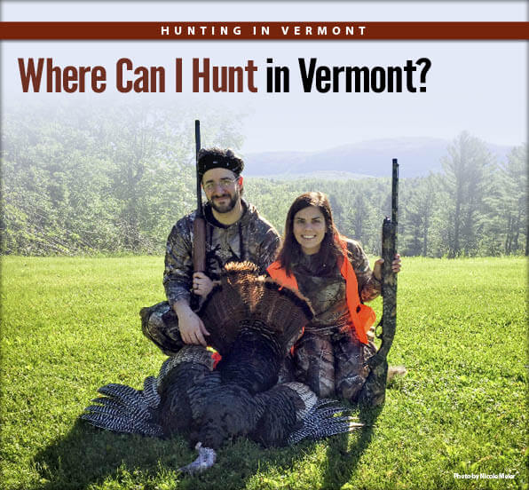 Where can i hunt in vermont vermont hunting seasons for Vt fish and game license