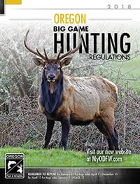 Oregon Big Game Hunting Cover