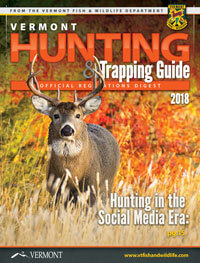 Vermont Hunting Regulations Cover