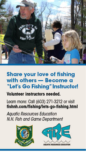 Interstate waters new hampshire freshwater fishing guide for New hampshire fishing license