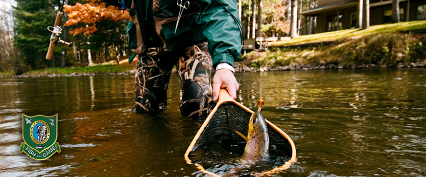 Welcome to the New Hampshire Freshwater Fishing Regulations