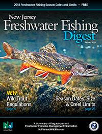 New jersey freshwater fishing seasons regulations 2018 for New jersey fishing license