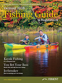 Vermont Fishing Regulations Cover