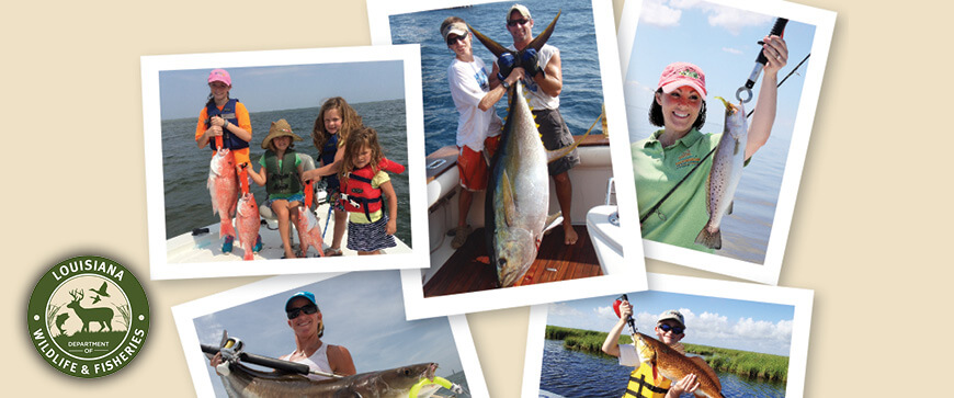 Welcome to the Louisiana Fishing Regulations